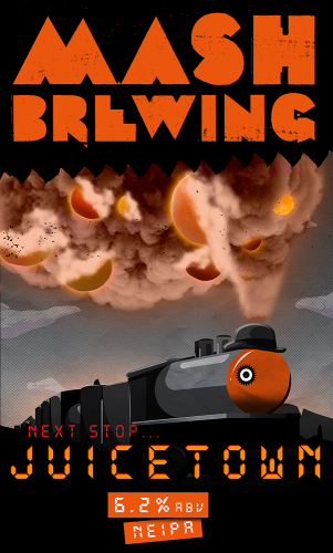 Mash Brewing - Juicetown / Juice train NEIPA